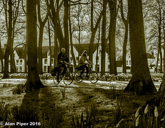 Cycling in Brugges