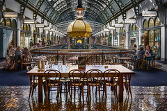 QVB (Bill Thoo) Tags: architecture 35mm cafe sony arcade sydney australia nsw qvb queenvictoriabuilding a7rii