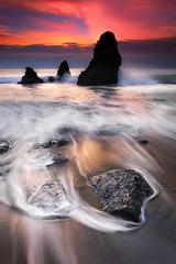 Sea monsters, Rodeo beach (Viper 78) Tags: sunset seascape coastline rodeobeach