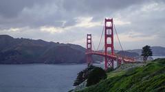 Golden Gate Bridge (Marlo Nermal) Tags: ocean sf sanfrancisco bridge landscape 50mm bay outdoor goldengatebridge bayarea