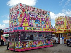Candy Factory Food Trailer. (dccradio) Tags: carnival sky sc festival clouds fun myrtlebeach southcarolina bluesky fair entertainment fries midway countyfair candyfactory communityevent myrtlebeachspeedway chickenonastick horrycounty foodtrailers stratesshows foodconcessions horrycountyfair