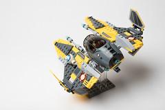 Lego_starwars_5611 (kyl080) Tags: star starwars mod lego space r2d2 anakin wars skywalker moc starfighter 7256 7669