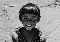 Just smile (DanieleS.) Tags: travel portrait white black smile wow photography photo kid amazing cool shot good great tibet dannyboy bianco ritratto nero daniele 2013 ilovedannyboy