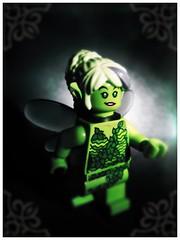 The Green Fairy (LegoKlyph) Tags: lego drink fairy absinthe custom wormwood greenfairy