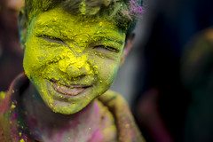 Yellow Fell-ow!! (Mali) Tags: portrait people india color smile face yellow festival closeup kids children happy 50mm colorful candid indian ngc happiness celebration enjoy colored chennai holi colorsplash tamilnadu roi cwc holifestival travelindia indiafestival indiapictures incredibleindia festivalofcolors sowcarpet rootsofindia lingeswaran nikond7000 chennaiweekendclickers 121clicks malishots instafest cwc519