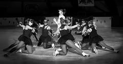 Bal Masqu (cornelis1980) Tags: girls white ice monochrome beauty canon eos dancing d skating figure 28 tamron 70 gala vc bal clack 70200mm masqu