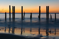 Tonight at Port Willunga, South Australia - Sunset (Sharon Wills) Tags: ocean travel sunset sea seascape tourism beach port ruins jetty south australian australia southaustralia weir australasia willunga portwillunga
