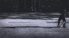 step off (berberbeard) Tags: street urban blackandwhite germany deutschland photography fotografie skateboarding linden hannover monochrom schwarzweiss fixedfocus itsnotatrick berberbeard berberbeardwordpresscom ilce7m2