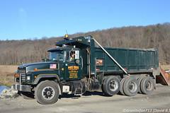 Pikes Creek Mack RD Tri Axle Dump (Trucks, Buses, & Trains by granitefan713) Tags: hk truck dumptruck mack macktruck constructiontruck triaxle enddump pikescreek mackrd liftaxle rd688s mackrd688s vocationaltruck