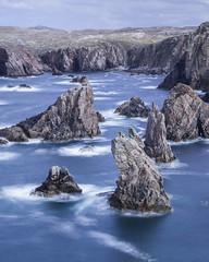 Sea stacks (J.e.r.e.m.y. S.i.l.v.e.r.) Tags: uk longexposure scotland united lewis le lee harris kindgom 10stop bigstopper