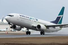 WestJet Boeing 737-800 C-FLSF (atcogl - ATC @ YYZ) Tags: toronto ontario canada plane airplane aircraft jet aeroplane rotation boeing westjet flugzeug takeoff airliner avion pearson 737 yyz rotate ws 737800 b738 cyyz wja 737800w cflsf