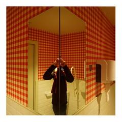 Selfie (ngbrx) Tags: barcelona espaa mirror spain spiegel toilet toilette espana wc catalunya catalua selfie katalonien