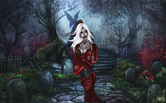 The Countess of the night 03 (alexandra wardark) Tags: sl fantasy secondlife