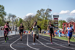 100m Dash (Phil Roeder) Tags: athletics track iowa athletes hdr desmoines trackandfield canonef70200mmf4lusm canon6d desmoinespublicschools