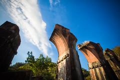 GTJ-2016-0501-15 (goteamjosh) Tags: abandoned train taiwan  miaoli   sanyi dragonbridge taiwanesehistory   longtengbrokenbridge  sanyitownship taiwanrailways japanesecolonialera yutengpingbridge longtendbridge