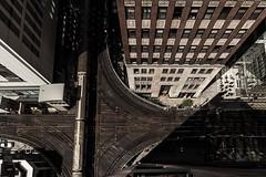 EL L  #Chicago #LTrain #Lookdown #Aboveground #City #CityLife #Urban #UrbanExplorer #Urbex #ChicagoIllinois #Illinois (kallyone) Tags: city urban chicago illinois citylife lookdown ltrain chicagoillinois urbex aboveground urbanexplorer