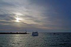 Israel (Hemo Kerem) Tags: street sunset sea seascape water clouds israel boat telaviv minolta sony 28mm mf alpha manualfocus tlv rokkor minoltamd28mmf28 a7rii sonya7rm2 a7rm2