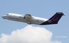 OO-DWJ Brussels Airlines British Aerospace Avro RJ100 - cn E3355 (Flox Papa) Tags: papa fp florent flox praudeau