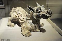 Chimera (Tomb figurine) (V. C. Wald) Tags: artinstituteofchicago chimera chineseantiquities tombfigurine chineseearthenware