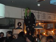 Dirty green vinyl. OTSO bar christmas special 2015 gig (huddsfilm1) Tags: music green hair skins punk live gig crowd indie venue dgv skinhead harrington subculture indierockband huddersfieldmusic unsignedband dirtygreenvinyl