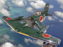 J-24 Katana (JonHall18) Tags: japan plane fighter lego pacific aircraft fantasy ww2 pilot moc dieselpunk