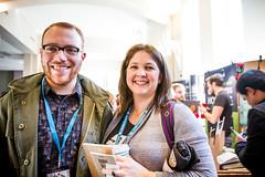 2015 WordCamp US | Attendees (WordCamp United States) Tags: philadelphia smiling sara wordpress hallway 2015 wordcamp sarahpressler wordcampus wcus photobysheribigelow wcus2015 wordcampus2015