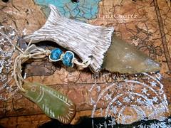 DSCN2587 (LynzCraftz) Tags: art necklace handmade spirit oneofakind goddess polymerclay resin arrowhead pendant amulet renaissancefair swellegant