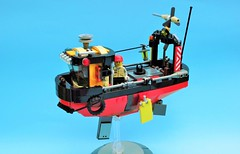 Aldo 01 - Ian McQue inspired (JPascal) Tags: boat flying lego