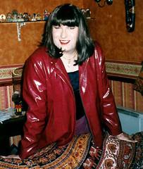 Vintage Dianne1 1999 (dianne66uk) Tags: make up leather high boots heels satin suede