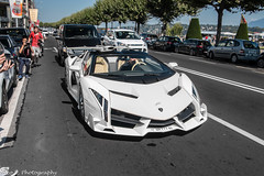 Veneno Roadster (Nico K. Photography) Tags: white switzerland geneva lamborghini rare veneno supercars roadster lp7504 nicokphotography
