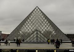 La Louvre (andrewtijou) Tags: city paris france museum europe pyramid artgallery louvre capital fr iledefrance glasspyramid nikond7000 andrewtijou