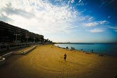 South of France (morning light) (s.razura) Tags: morning sky color beach landscape southoffrance