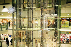Stockmann Nevsky Center (adam sharp) Tags: winter film 35mm stpetersburg photography russia olympus center fujifilm saintpetersburg superia400 mjuii nevsky stockmann stp filmphotography россия mju2 fujifilmsuperia μmjuii санктпетербу́рг