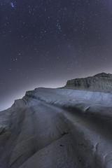 Stairway to stars (Massimo Distefano) Tags: sky stars cielo sicily sicilia agrigento stelle scogliera scaladeiturchi