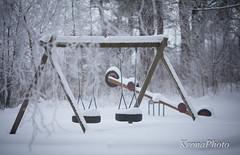 Untouched playground (KronaPhoto) Tags: winter snow ice playground norway kids barn is vinter play natur hidden untouched sn snowbound leker huske lekeplass vippe nedsndd urrt gjemt uberrt