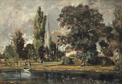 Salisbury Cathedral and the Leadenhall (AnthonyR2010) Tags: london painting landscape gallery nationalgallery salisbury avon salisburycathedral constable johnconstable