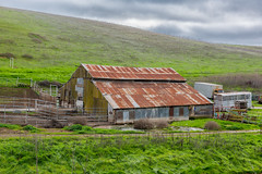 RHM_0931-1306.jpg (RHMImages) Tags: green barn landscape nikon rust farm overcast rusted rusting livermore ebrpd brushypeak d810 ebparksok
