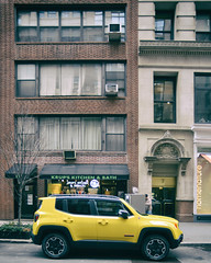 18th Street West (7) 7 (shooting all the buildings in Manhattan) Tags: nyc newyorkcity ny newyork car architecture us manhattan 18thstreet february 2016