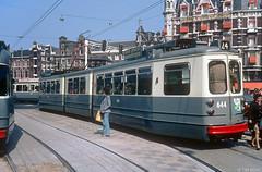 Allemaal trams om je heen (Tim Boric) Tags: amsterdam tram streetcar tramway muntplein strassenbahn 4g gvb munt gelede beijnes