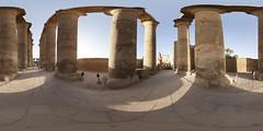 Colonnade Hall at Luxor Temple 360 (m1ke_a) Tags: temple outdoor columns egypt 360 unesco worldheritagesite luxor tutankamun thebes historicalsite ancientegypt egyptology antiquity historicbuilding amenhotepiii historicheritage