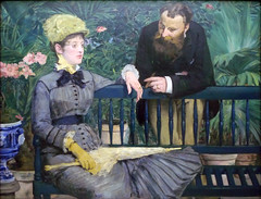 Manet, In the Conservatory, 1878-79
