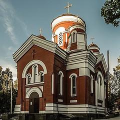 Храм вмц.Екатерины (на Лукьяновском кладбище)