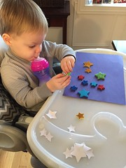 """Paul Plays with Star Stickers • <a style=""""font-size:0.8em;"""" href=""""http://www.flickr.com/photos/109120354@N07/24457320229/"""" target=""""_blank"""">View on Flickr</a>"""