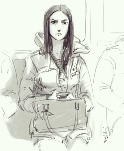 В метро на Samsung Note 3