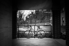 Bike (Richard Tran) Tags: camera college bike us university unitedstates random pennsylvania places things pennstate fujifilm statecollege universitypark lightroom x100 pennsylvaniastateuniversity x100s tclx100