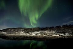 Tromso - Noruega (pirindao) Tags: norway canon landscape noruega northernlights tromso articcircle rtico auroras aurorasboreales tromsoya circulopolarrtico