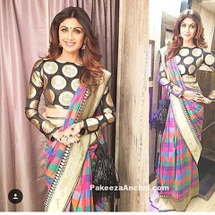Shilpa Shetty in Manish Malhotra's Silk Saree and Boat Neck Blouse (shaf_prince) Tags: shilpashetty bollywoodactress bollywoodsarees actressinsarees designerwear celebritydresses bridalsilksarees puresilksarees sareeblousedesigns indianfashiondesigners blousebackneckdesigns blousepatterns blousebackdesigns bollywooddesignerdresses actressinblackdresses blousemodels blouseneckdesigns stylishdesignsforblouse boatneckblousedesigns silksareedesigns umangpoliceshow