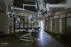 5 (TheVampiricSquid) Tags: urban abandoned hospital lights decay exploration urbex