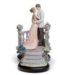 Lladro 07695 MOONLIGHT LOVE (Lladro from Spain Montinas) Tags: love moonlight porcelain lladro saintvalentinesday