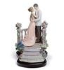 Lladro 07695 MOONLIGHT LOVE (Lladro from Spain Montinas) Tags: love moonlight porcelain lladro saintvalentinesday